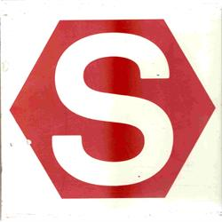 Gammelt S-tog logoet