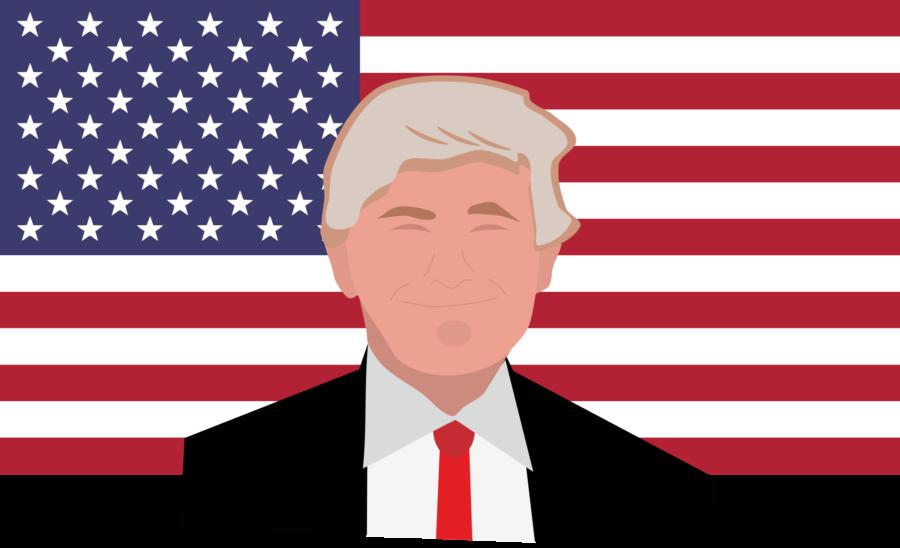 Donald Trump tælleren - hvor lang tid