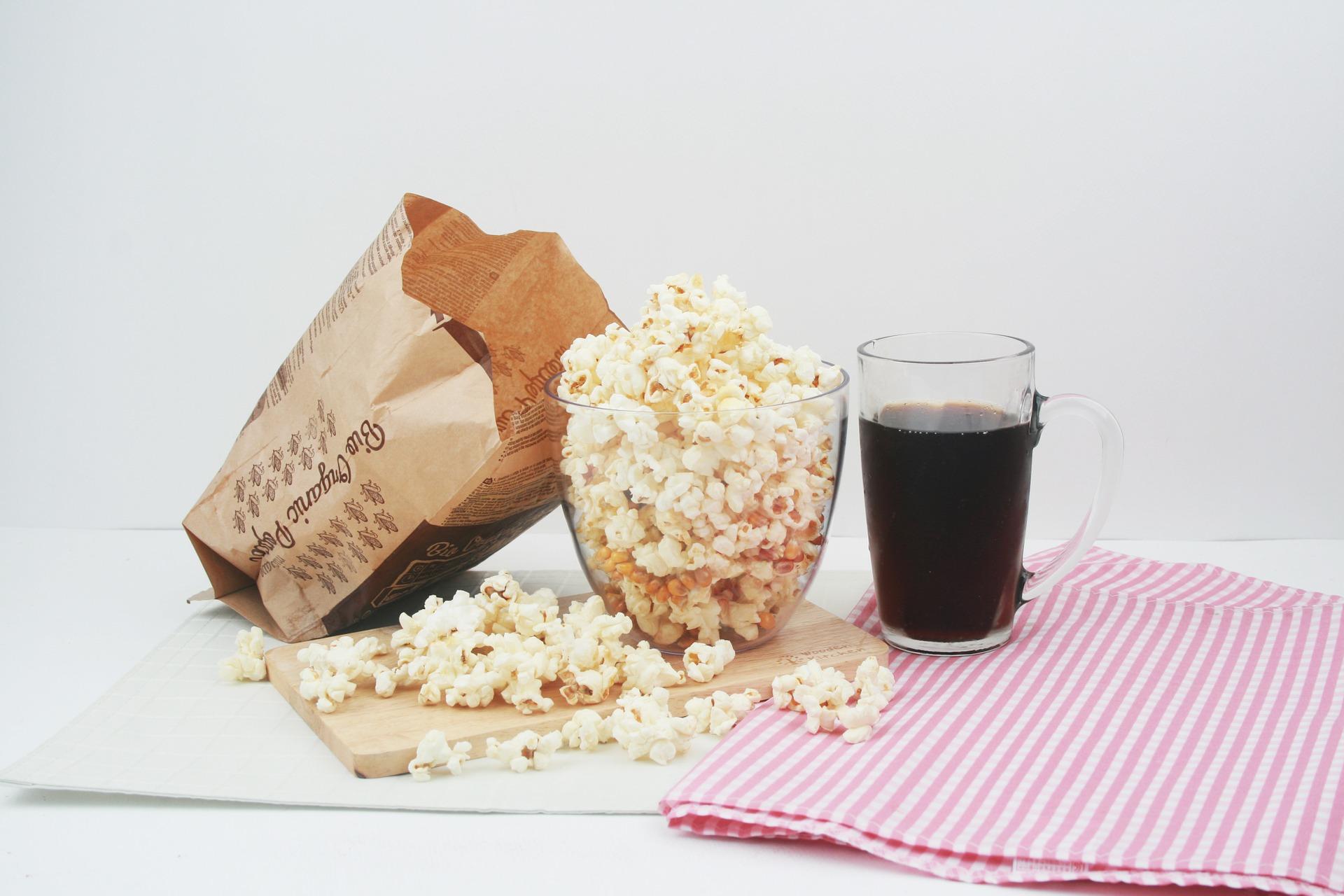 Hvor mange kalorier er der i popcorn