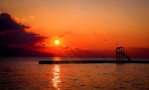 Solnedgang - hvornår går solen ned