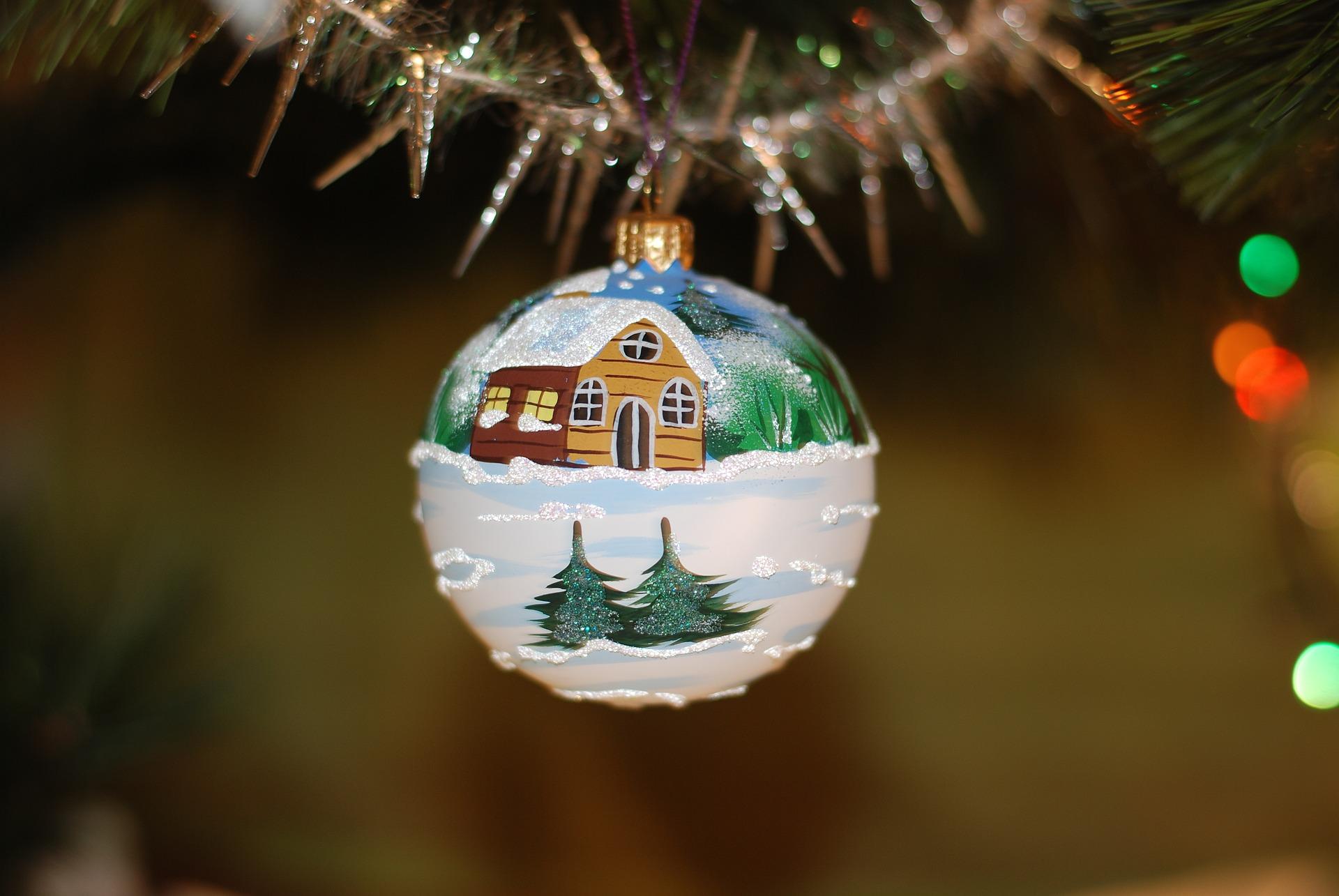 Juletræ Julepynt Jul Advent