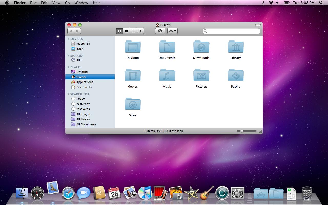 Hvordan tager man screenshot på en mac