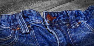 Indigo jeans blå mandag