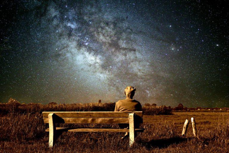pension alder smukt stjerner rummet