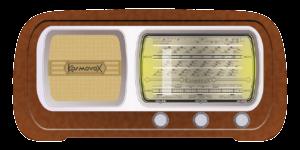 DAB radio oldschool retro
