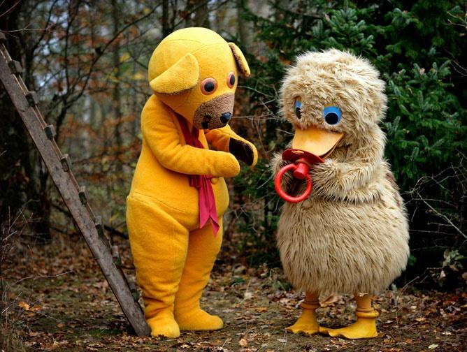 Bamse og ælling