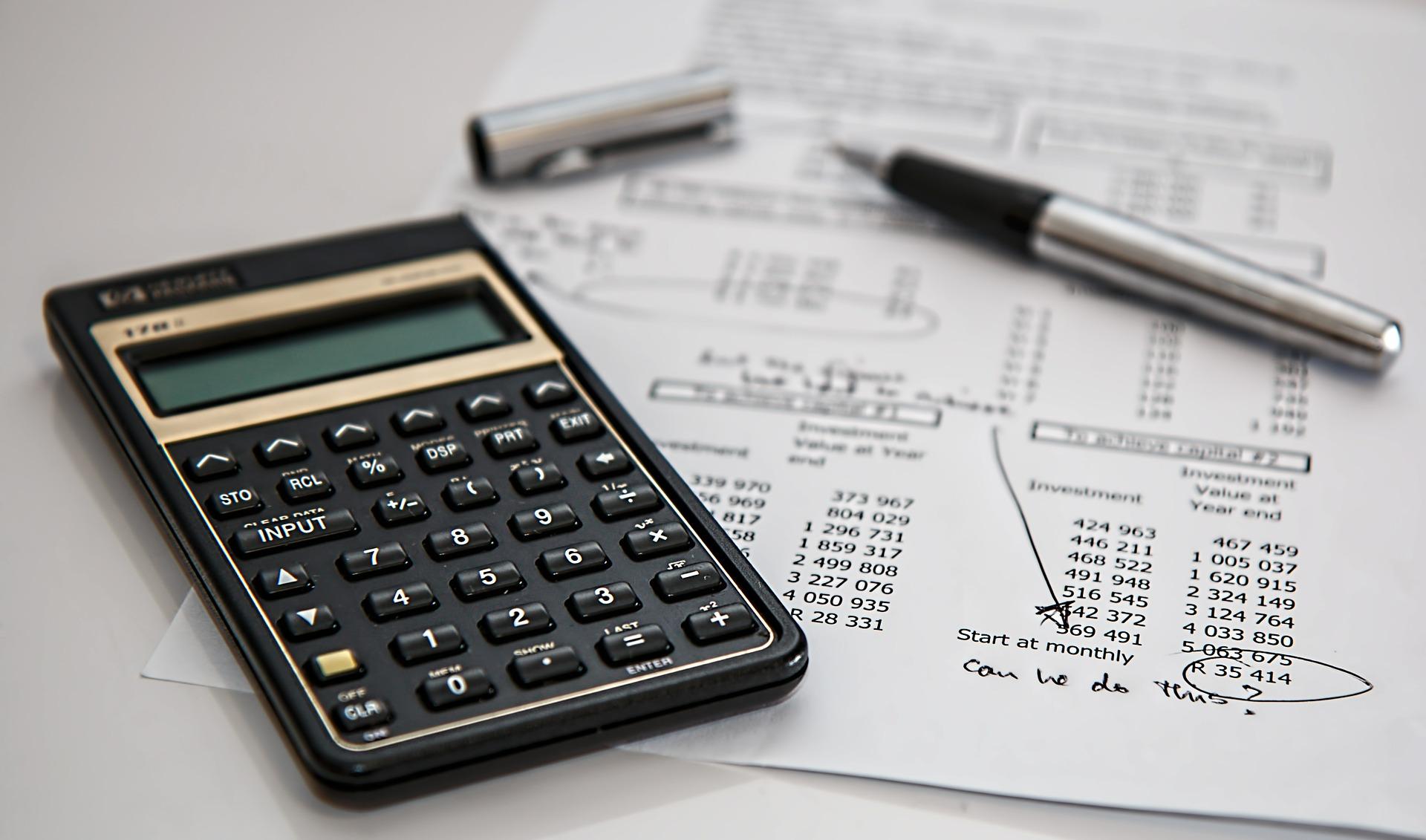 Beregn skat udregning lommeregner matematik