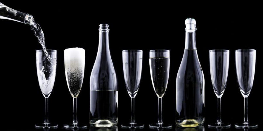 Champagne nytår nytårsaften
