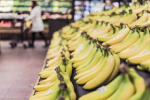 bananer shopping grønt frugt
