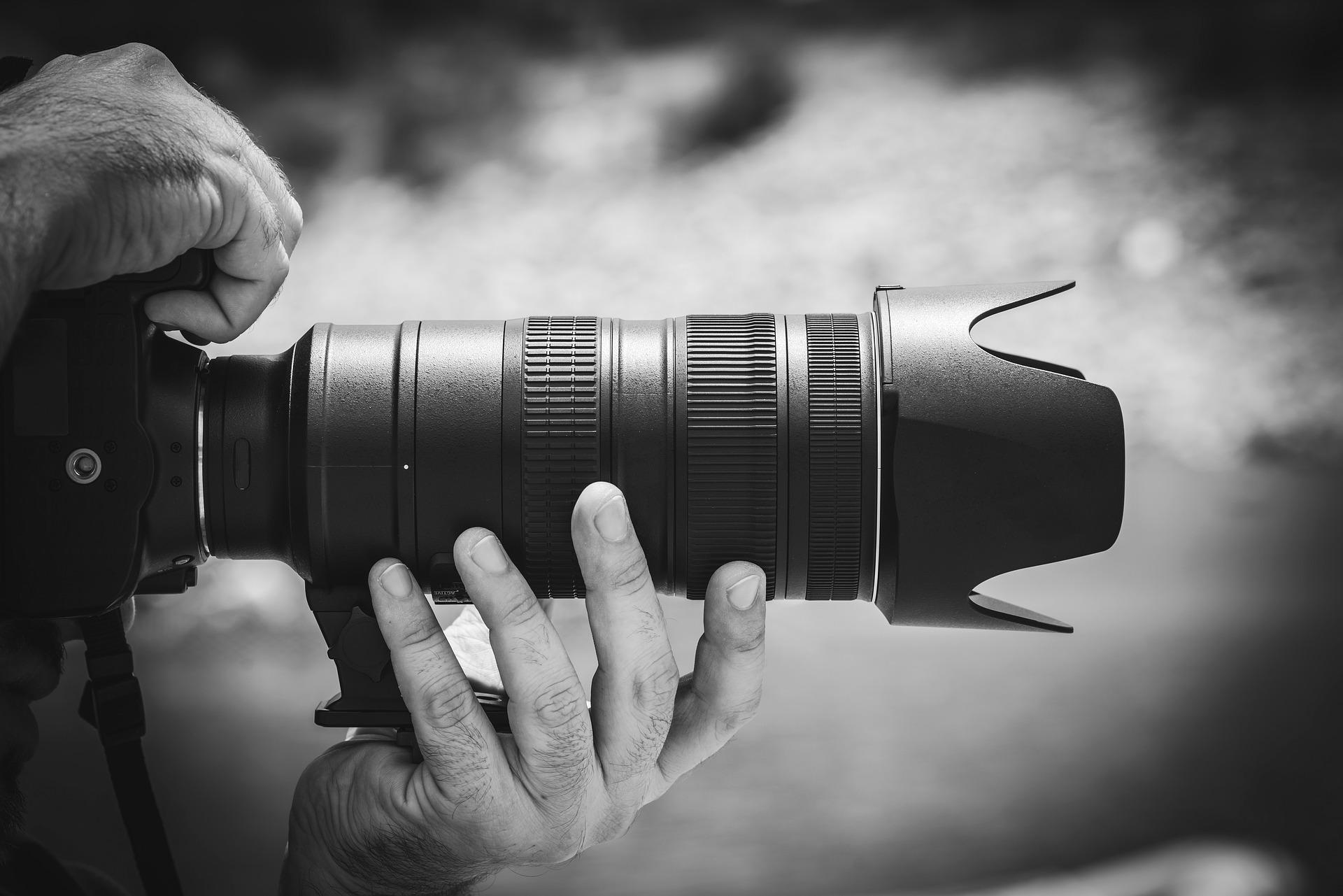 Nyheder fotografi journalist