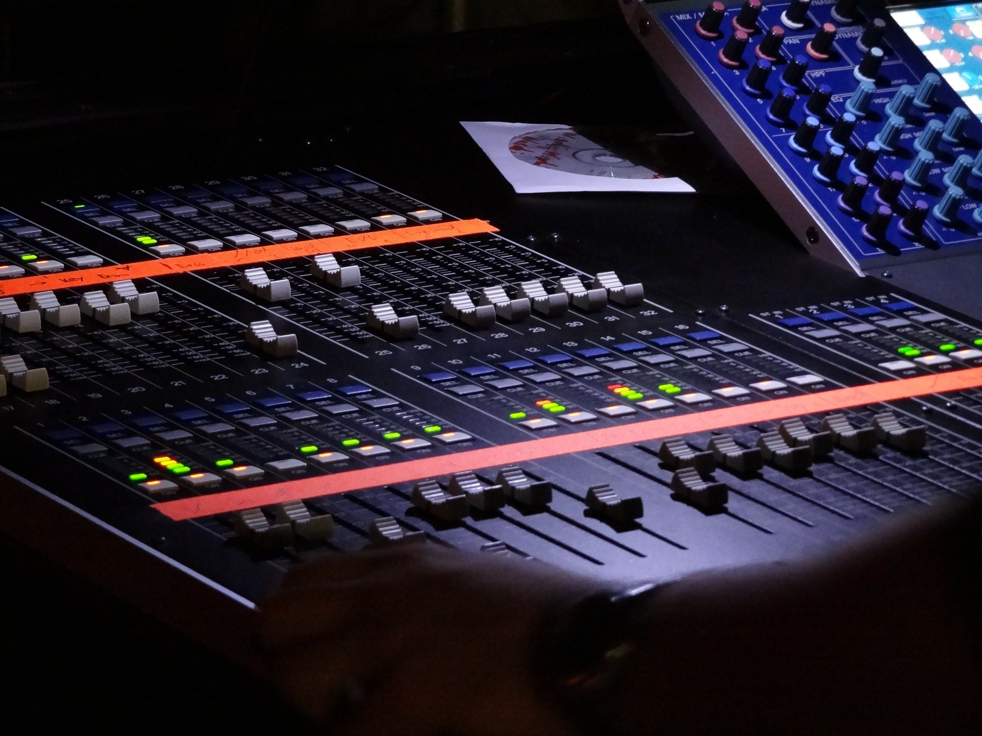 musik mixer studie