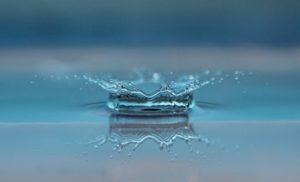 vand dråber