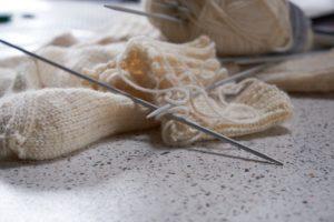 strikke vinter vanter