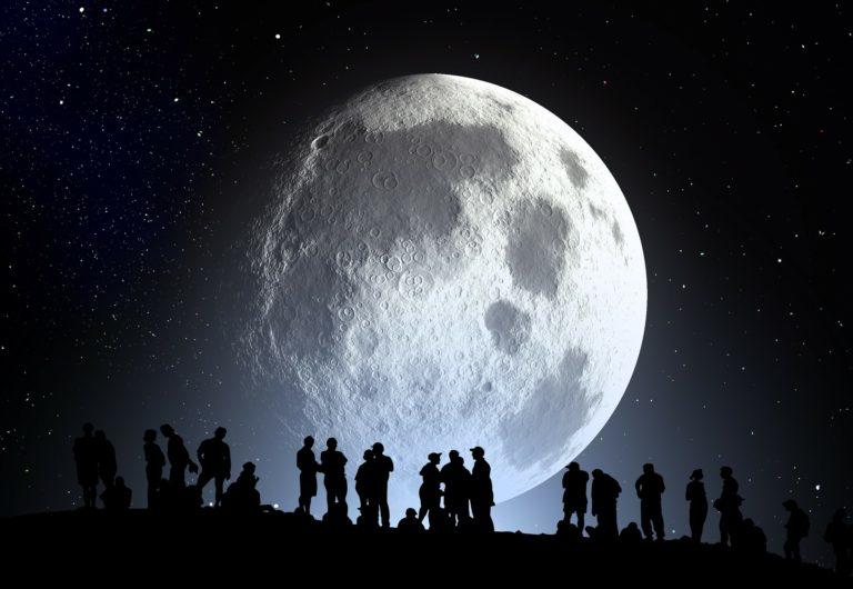 Månen rummet mysterie