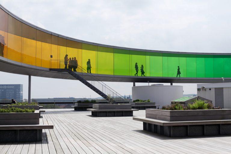 Aarhus aros panorama kunst regnbue