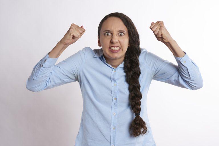 frustration vrede følelser kvinde