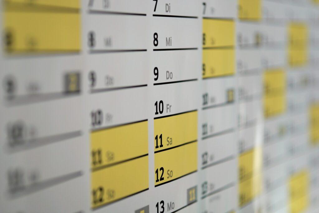 uge kalender dato